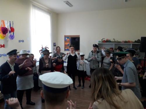 Bal karnawałowy w Warsztacie Aktywnej Integracji w Suminie